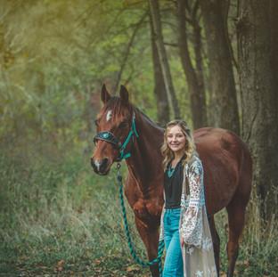 Senior Horse Photography