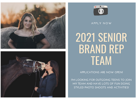Looking for 2021 Senior Reps for Chelsea Liz Photography