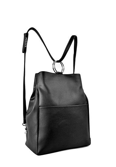 PREGES Original Matte Black Handbag