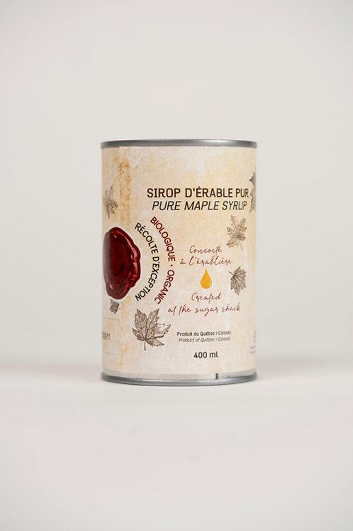 Sirop d'érable biologique 400 ml