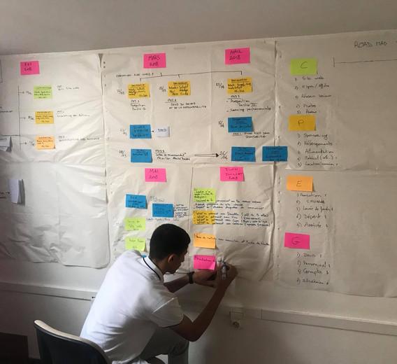 Organisation de la prémiere édition ( road map)