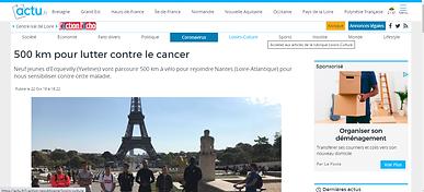 Mosaique roule contre le cancer