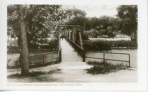 Bridge over Zumbro River