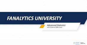 Fanalytics U Class 4: Advanced Sports Statistics