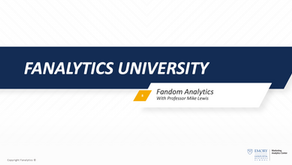 Fanalytics U Class 8: Brand Equity in Sports