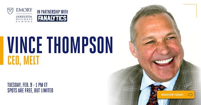Join MELT CEO Vince Thompson for Fanalytics Webinar