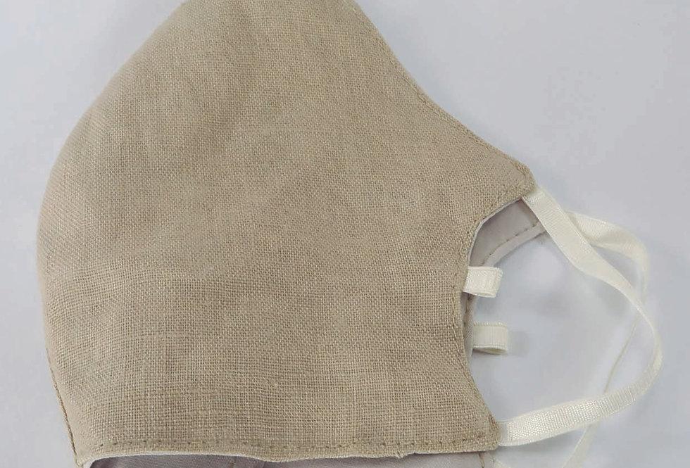 100% Linen Face mask