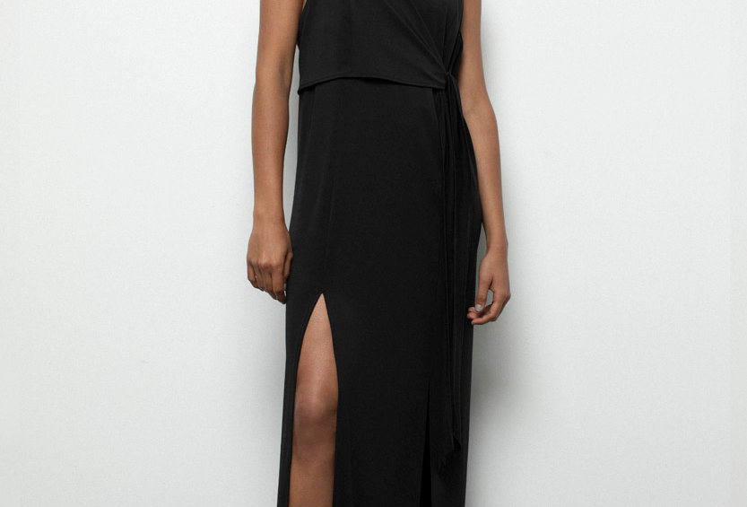 Vestido Nudo -Black