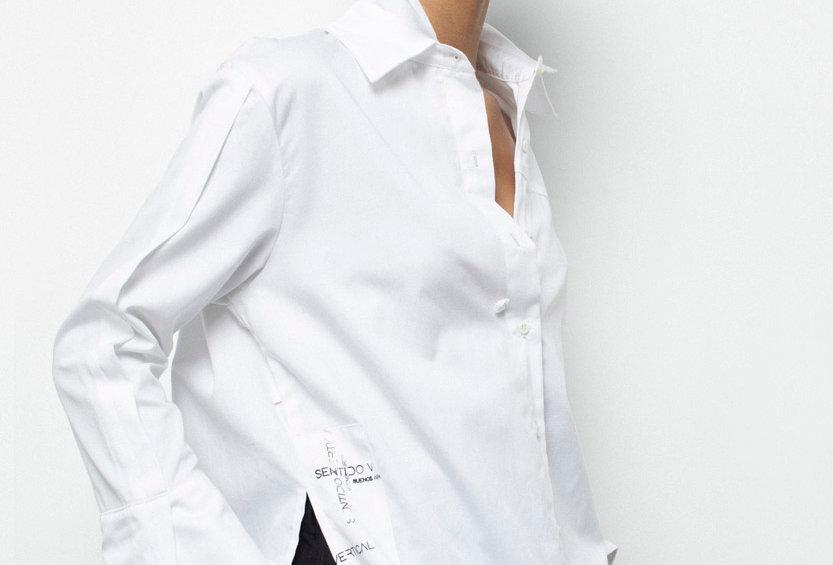 Camisa Caos White