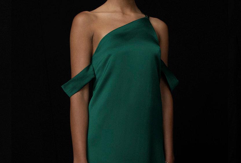 Vestido Acción -Green