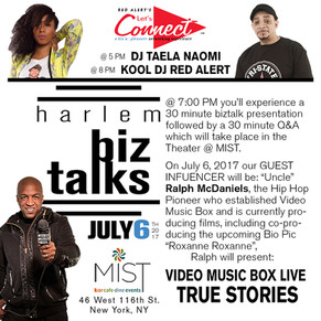Let's Connect Biz Talk with Ralph McDaniels