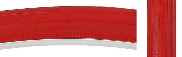 TIRES SUNLT 27x1-1/4 CST740 RD/RED