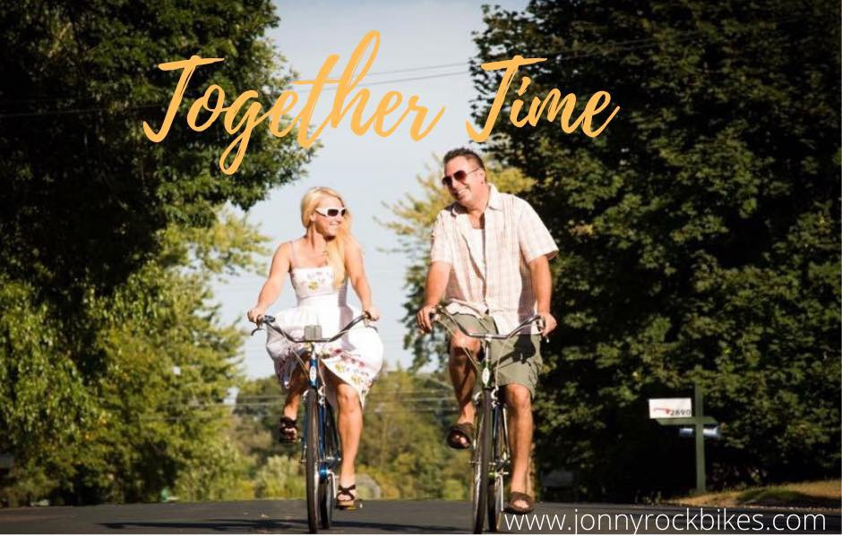 Jon and Kat Minks Owners of Jonny Rock Bikes