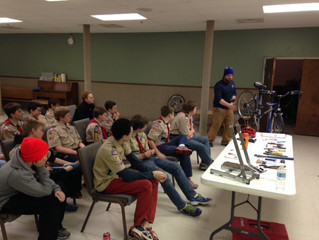 Boy Scouts - Cycling Merit Badge
