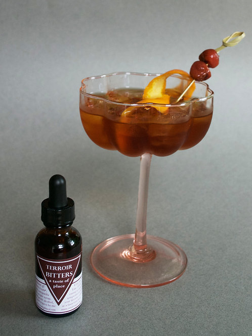 Woods Bitters: 2 oz