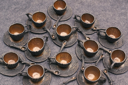 Ember Tea Cups, Set of 2