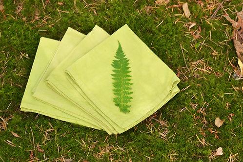 Moss napkins: set of four