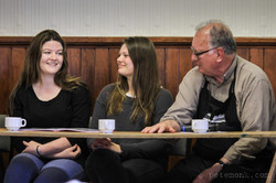 Panel discussion with students