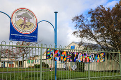 Featherston School mural for Booktow