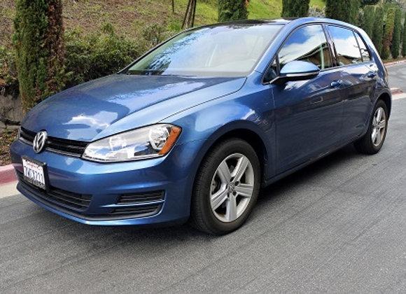 VW Golf TSI (Blue)