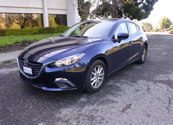 Mazda 3i Hatchback (Blue)