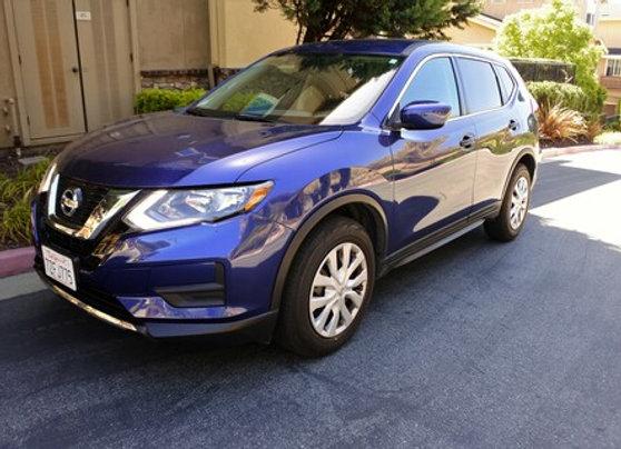Nissan Rogue SV (Blue )