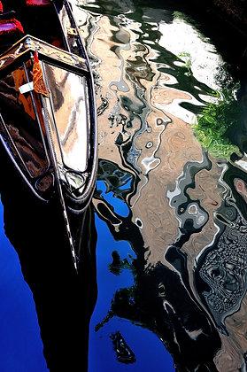 reflet de gondole