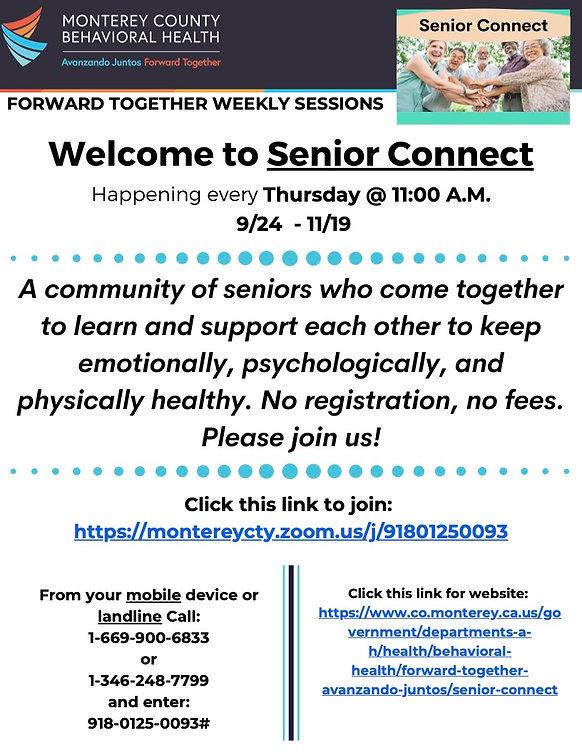 Senior Connect Flyer