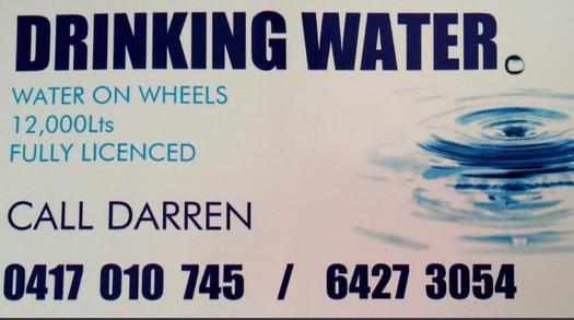 Water on Wheels