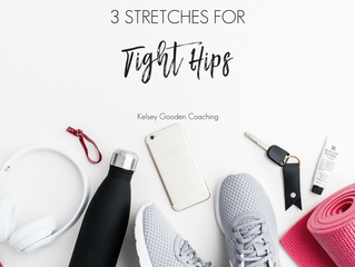 3 Stretches for Tight Hips