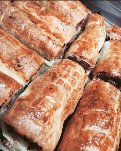 Award winning sausage rolls