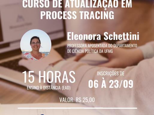 Inscrições abertas: curso de Atualização em Process Tracing