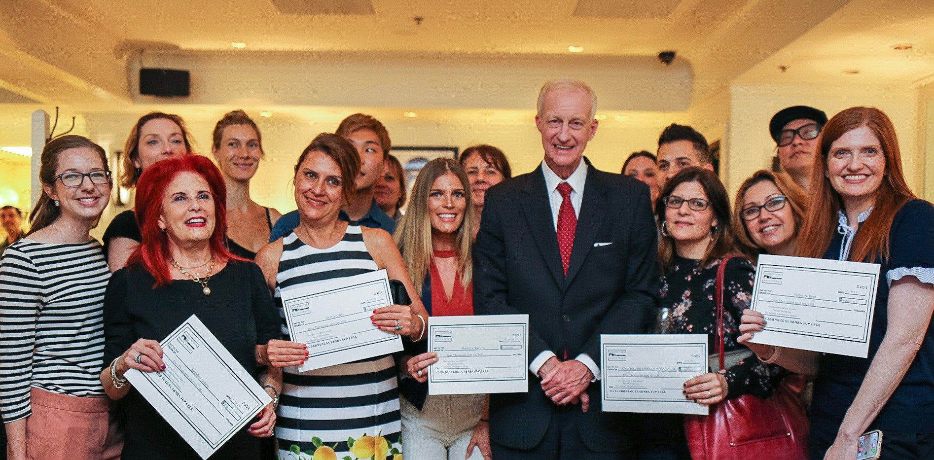2019 Small Business Grant Ceremony