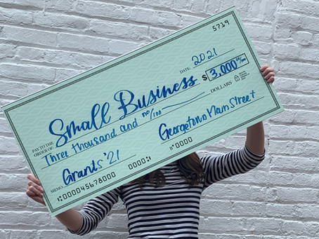 Georgetown Main Street Awards Sixty Thousand Dollars for Small Businesses