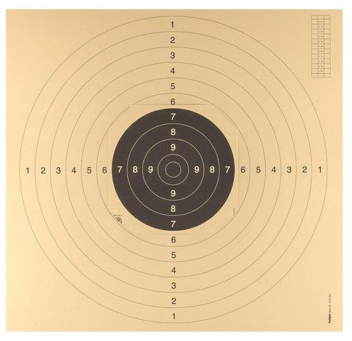 Cartons-cibles C50 - 55 x 53 cm avec encoches