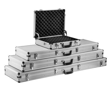 Mallette aluminium pour armes de longues 132  x 34  x 11 cm