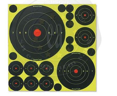Shoot-n-c Targets mix 50 cibles + pastilles