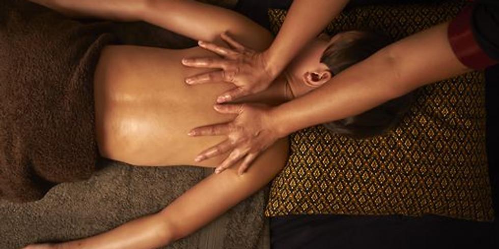 Atelier massage aux huiles Parent / enfant