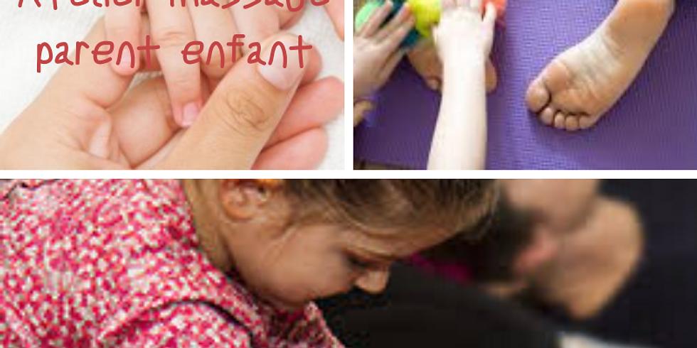 Atelier Massage Parent-enfant