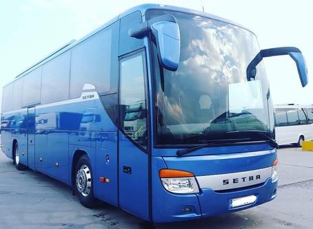 Η εταιρία μας, λίγο πριν το τέλος του 2018, προχώρησε στην αγορά δύο ακόμα λεωφορείων.