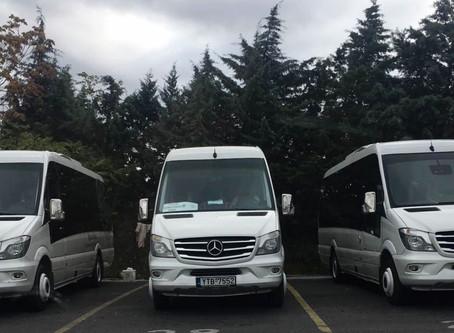 Στην απόκτηση τριών υπερπολυτελών mini buses, προχώρησε η εταιρία μας, με στόχο την άνετη και ασφαλή