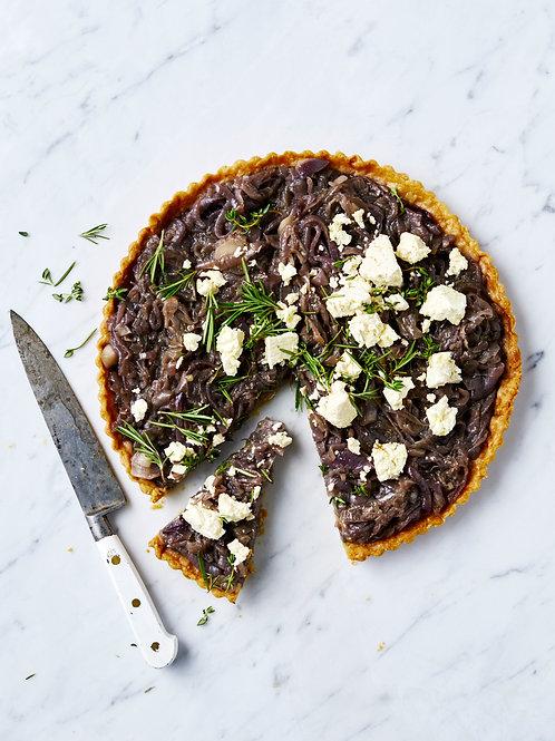 Thyme-infused Caramelised Onion & Feta Tart