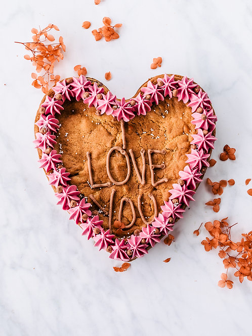 Giant Heart Cookie