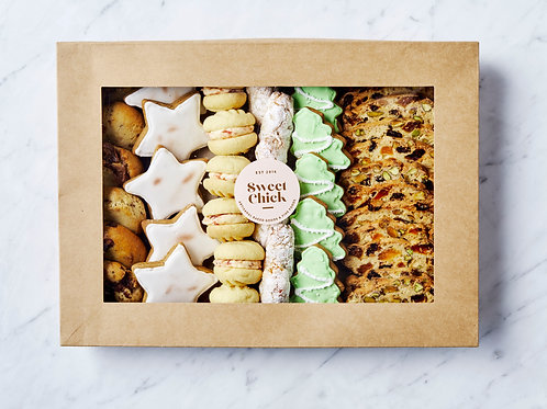 Deluxe Festive Biscuit Box