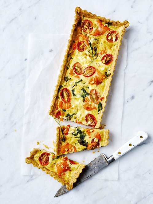 Smoked Trout Tart