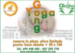 clase especial de Yoga acompañados de la vibración del Gong