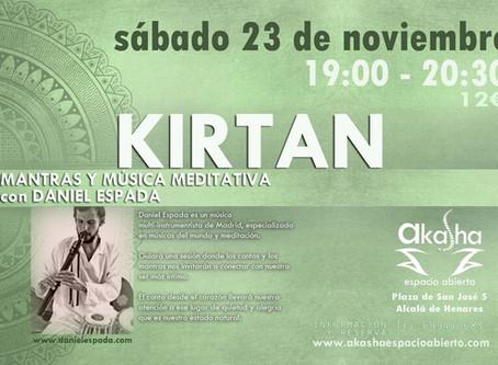 concierto KIRTAN - música para meditar