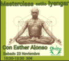 Master class Yoga Iyengar