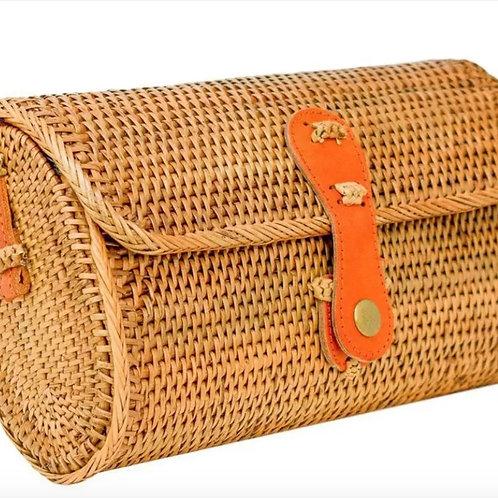 Nantucket Navy Stripe Pippa Bag