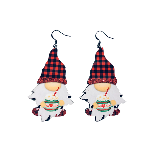 Cocoa Gnome Earrings